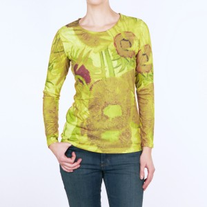Van Gogh Top long sleeve Sunflowers