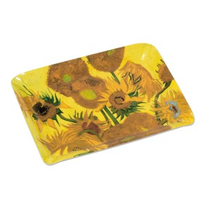 Van Gogh Serving tray Sunflowers