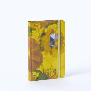 Notebook A6 abstract Sunflowers