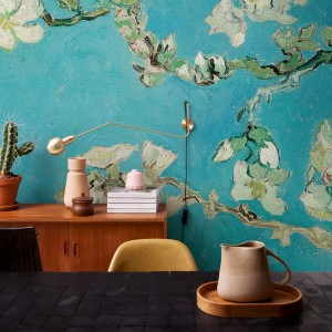 Van Gogh 3D Wallpaper Almond Blossom