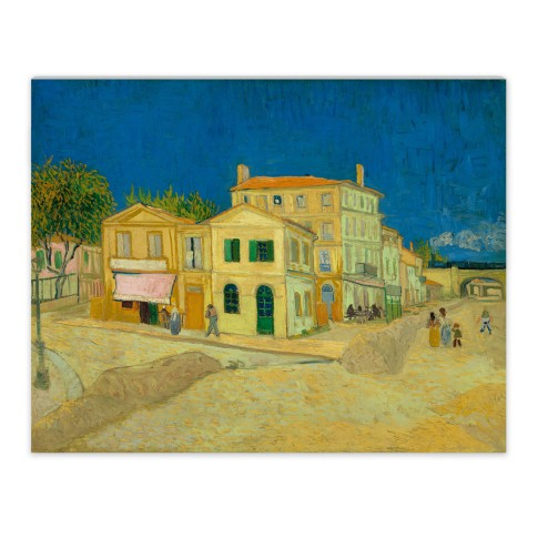 Van Gogh Canvas S Yellow House