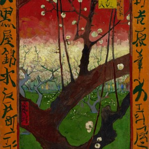 Van Gogh Postcard  Plum Tree