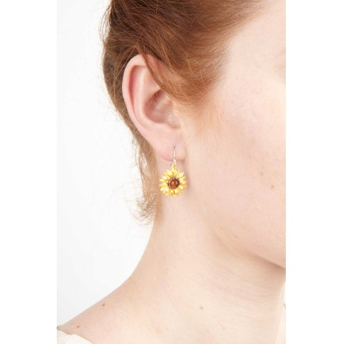 Van Gogh Michael Michaud® Single earrings Sunflowers