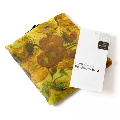 Van Gogh Foldable bag Sunflowers