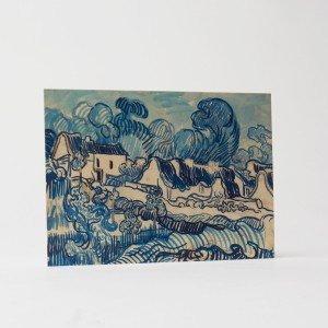 Card Landscape with Houses