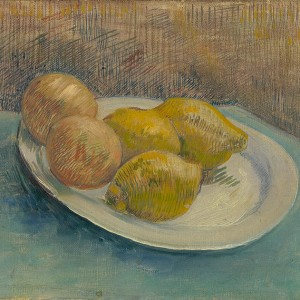 Van Gogh Giclée, Dish with Citrus Fruit