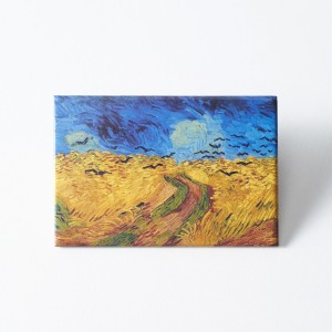 Van Gogh Magnet Wheatfield with Crows