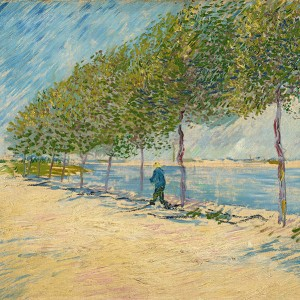 Van Gogh Giclée, By the Seine