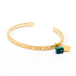 Van Gogh A Beautiful Story® Bangle quote 'Paint the Stars'