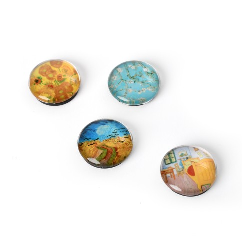 Glass magnets Van Gogh Highlights