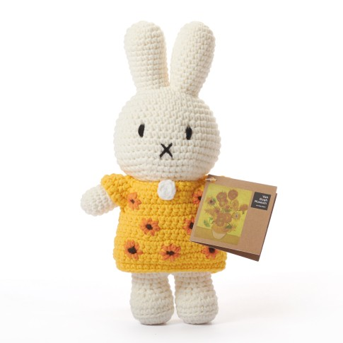 Van Gogh Miffy Sunflowers