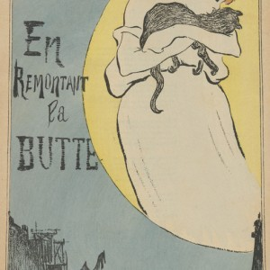 Sheet Music En remontant la Butte by Léon Durocher