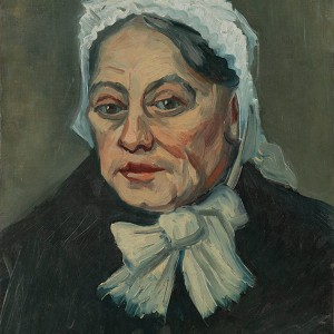 Van Gogh Giclée, Portrait of an Old Woman