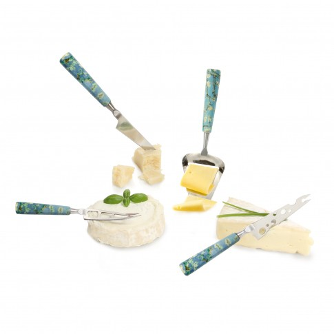 Cheese knife set mini Van Gogh Almond Blossom