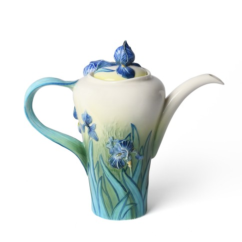 Tetera de porcelana Van Gogh Franz Collection®, Lirios