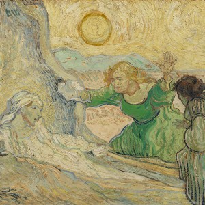 Van Gogh Giclée, The Raising of Lazarus (after Rembrandt)