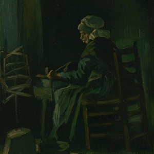 Van Gogh Giclée, Woman Winding Yarn