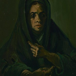 Van Gogh Giclée, Woman with a Mourning Shawl