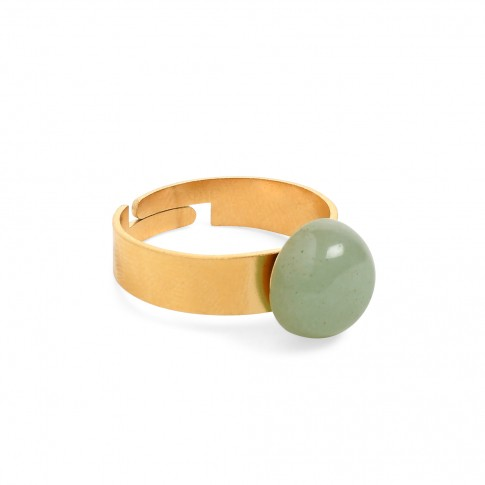 Van Gogh Ring with aventurine gemstone, by Ellen Beekmans®