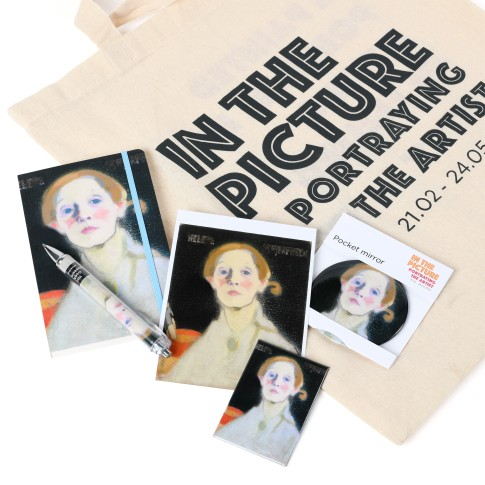 Set de regalo In the Picture, Schjerfbeck Autorretrato