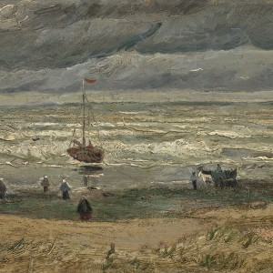 Van Gogh Giclée, View of the Sea at Scheveningen