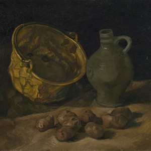 Van Gogh Giclée, Still Life with Brass Cauldron and Jug