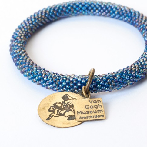 Van Gogh A Beautiful Story® Bracelet iridescent blue Irises
