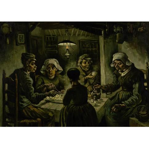 Postal Van Gogh, Los comedores de patatas - Van Gogh Museum shop