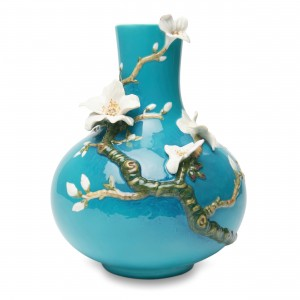 Florero de porcelana Franz Collection® Van Gogh, Almendro en flor