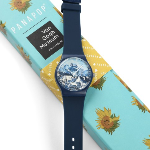 Panapop® reloj, Van Gogh Landscape with Houses