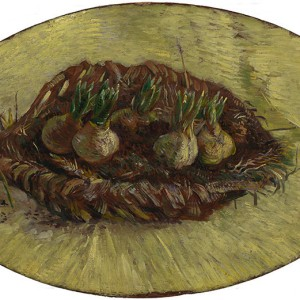 Van Gogh Giclée, Basket of Hyacinth Bulbs