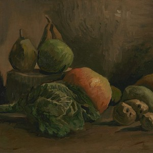 Van Gogh Giclée, Still Life with Vegetables and Fruit