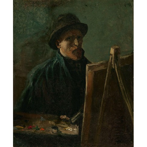 Van Gogh Giclée, Self-Portrait as a Painter
