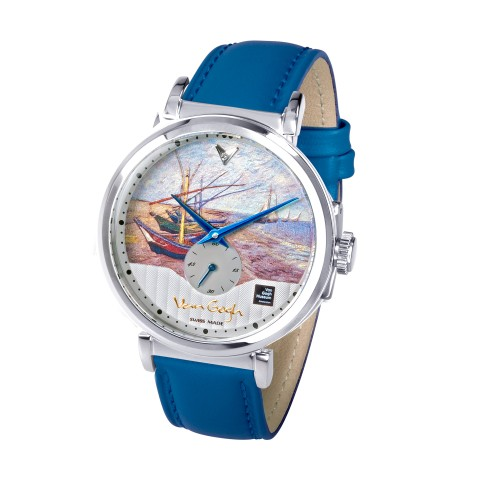 Reloj de hombre con diamante (42mm) Van Gogh Swiss Watches®