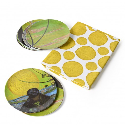 Van Gogh Set of plates + tablecloth The Sower