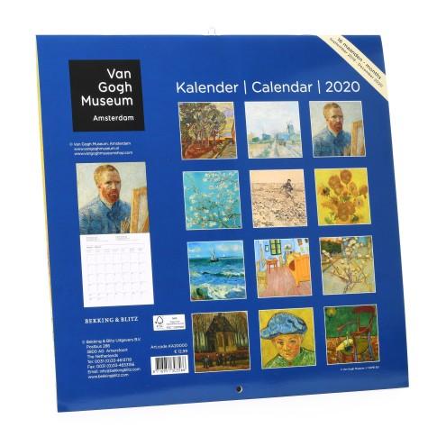 Calendario Grande.Agendas Y Calendarios Van Gogh Museum Shop