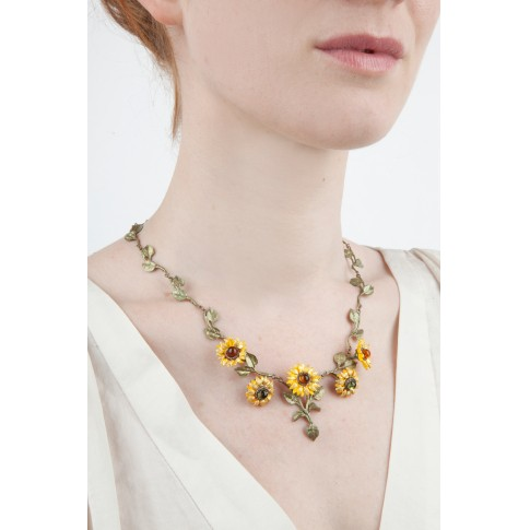 Collar Van Gogh Michael Michaud®, Los girasoles