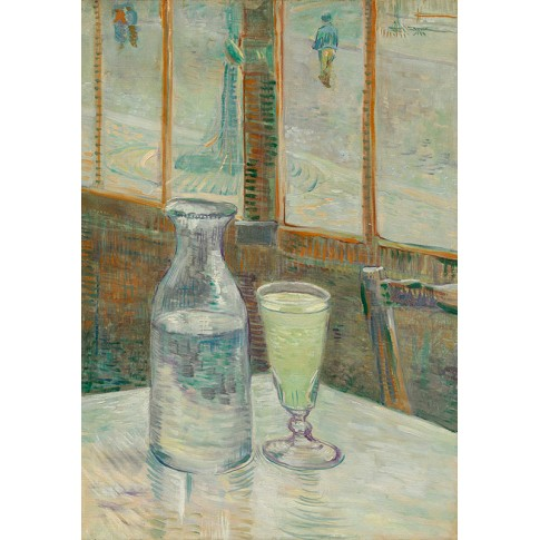 Van Gogh Giclée, Café Table with Absinthe