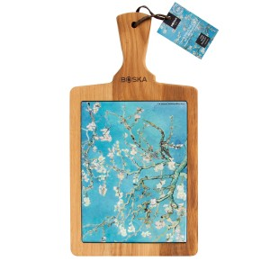 Cheese board Van Gogh Almond Blossom
