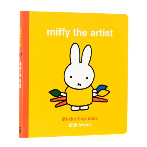 Libro desplegable Miffy la artista