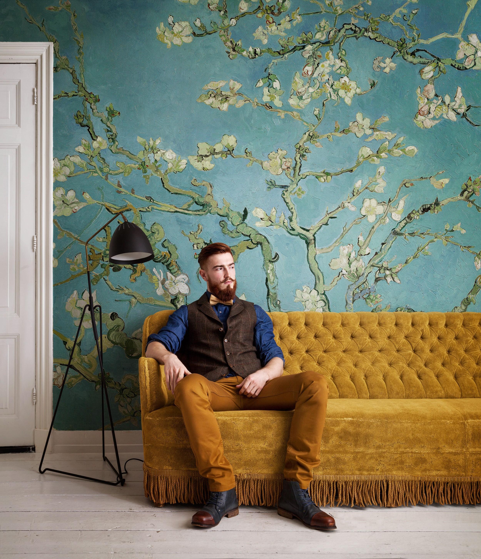 Win Almond Blossom wallpaper - Van Gogh Museum shop for Almond Blossom Van Gogh Poster  150ifm