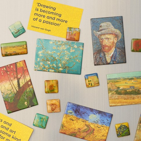Van Gogh Mini magneten set