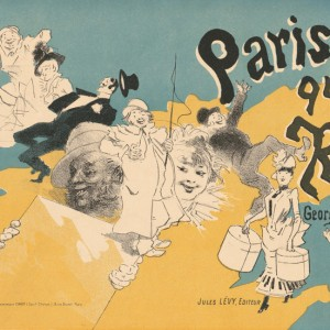 Cover for the book Paris qui rit by Georges Duval