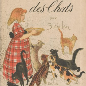 Artists' Book Des chats, dessins sans paroles
