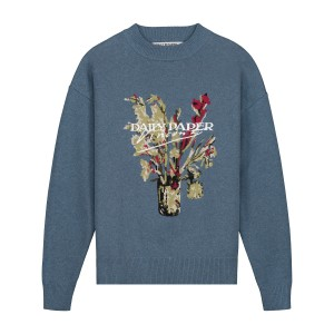 Daily Paper x Van Gogh Museum® Sweater Van Jenet blue ashes