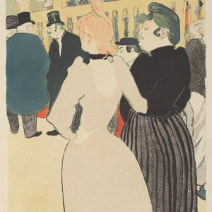 At the Moulin rouge: La Goulue and her Sister (Au Moulin rouge: La Goulue et sa sœur)