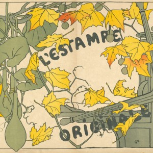 Decorative Cover for the album L'Estampe originale