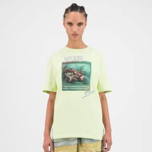 Daily Paper x Van Gogh Museum® Butterfly Yellow Van Horfly T-Shirt