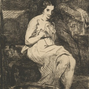 Women at her Toilet (La toilette)