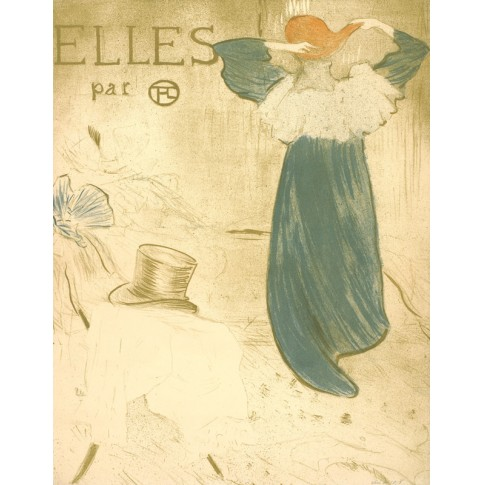 Frontispiece of the series Elles